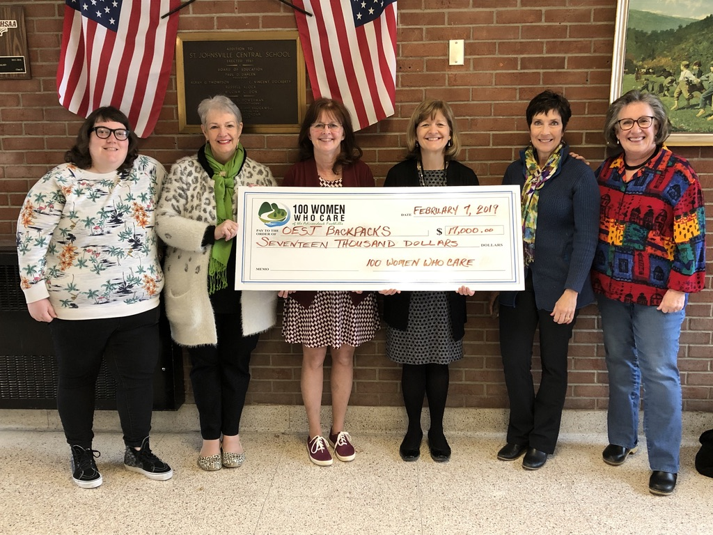 Feb 2019 Oppenheim, Ephratah and St Johnsville Schools Backpack Program